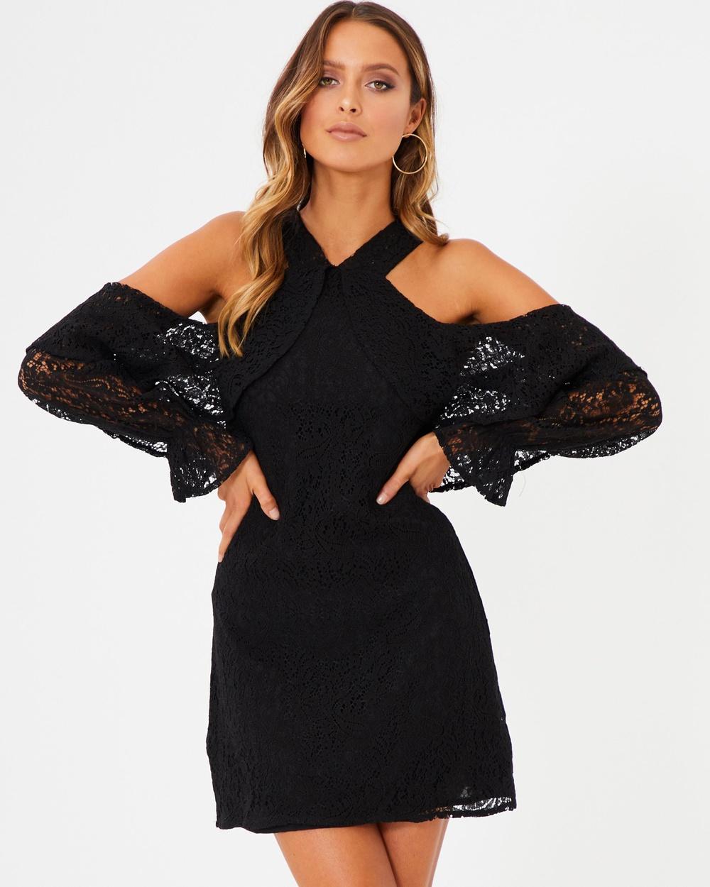 Photo of Tussah Black Carmela Mini Dress - beautiful dress from Tussah online