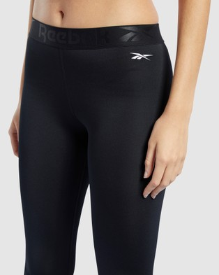 Reebok Performance Workout Ready Commercial Tights - Sports Tights (Black)