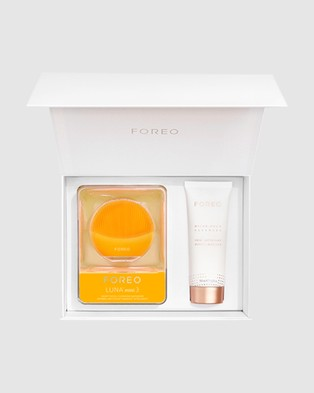 Foreo Start Clean Gift Set   Sunflower Yellow (Limited Edition)