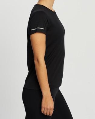 2XU XVENT G2 SS Tee - Short Sleeve T-Shirts (Black & Silver Reflective)