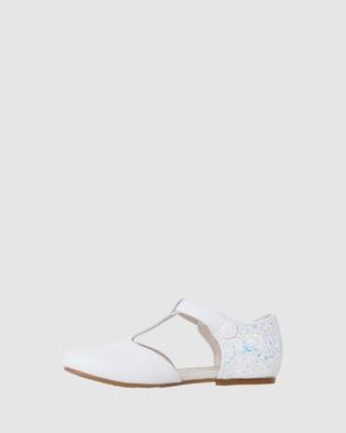 Papaya Adriana Lurex Mary Jane  - Flats (White)