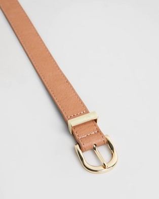 PETA AND JAIN Kendrick Belt - Belts (Tan)