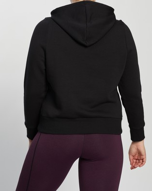 adidas Performance Plus Badge of Sport Pullover Fleece Hoodie - Hoodies (Black)