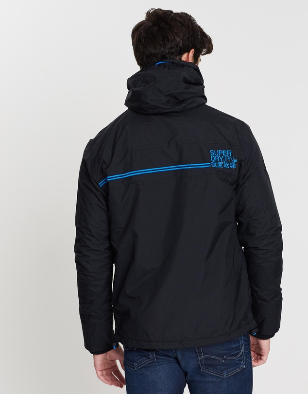 Superdry - Pop Zip Hood Arctic Windcheater