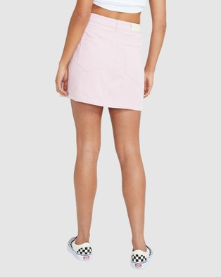 Insight Darby Cord Skirt - Skirts (PINK)