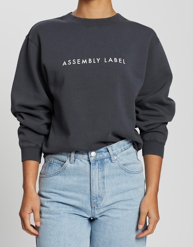 Assembly Label - Logo Fleece
