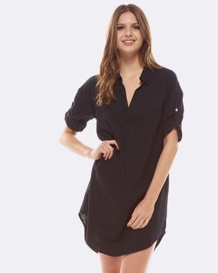 Deshabille – Revallo Shirt Dress Black Black