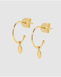 Luna Rae - Solid Gold - Drops of Dawn Earrings