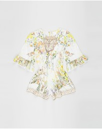 Camilla - Playsuit With Trim - Teens