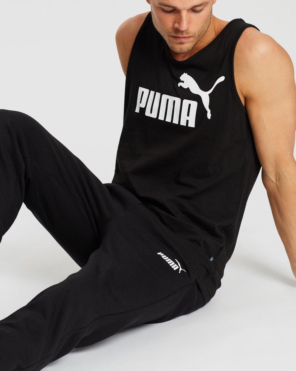 a6cec69891bb Essential Logo Pants by Puma Online | THE ICONIC | Australia