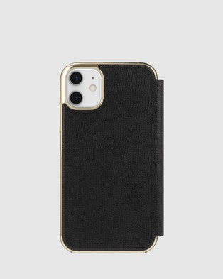 Kate Spade Kate Spade New York Folio Case for iPhone 11 - Tech Accessories (Black)
