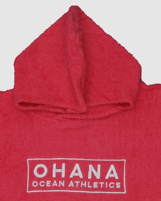 Ohana Adult Hooded Towel Tech Accessories Hot Pink