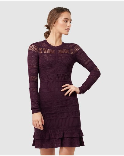 Forever New - Michelle Lace Stitch Dress
