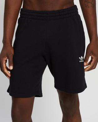 adidas Originals Trefoil Essential Shorts - Shorts (Black)