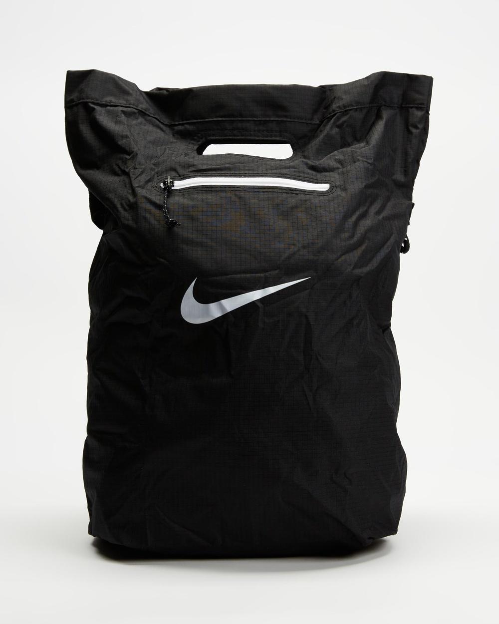 Nike Stash Tote Bags Black & White