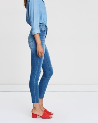 Silent Theory The Vice High Skinny Jeans - High-Waisted (DENIM)