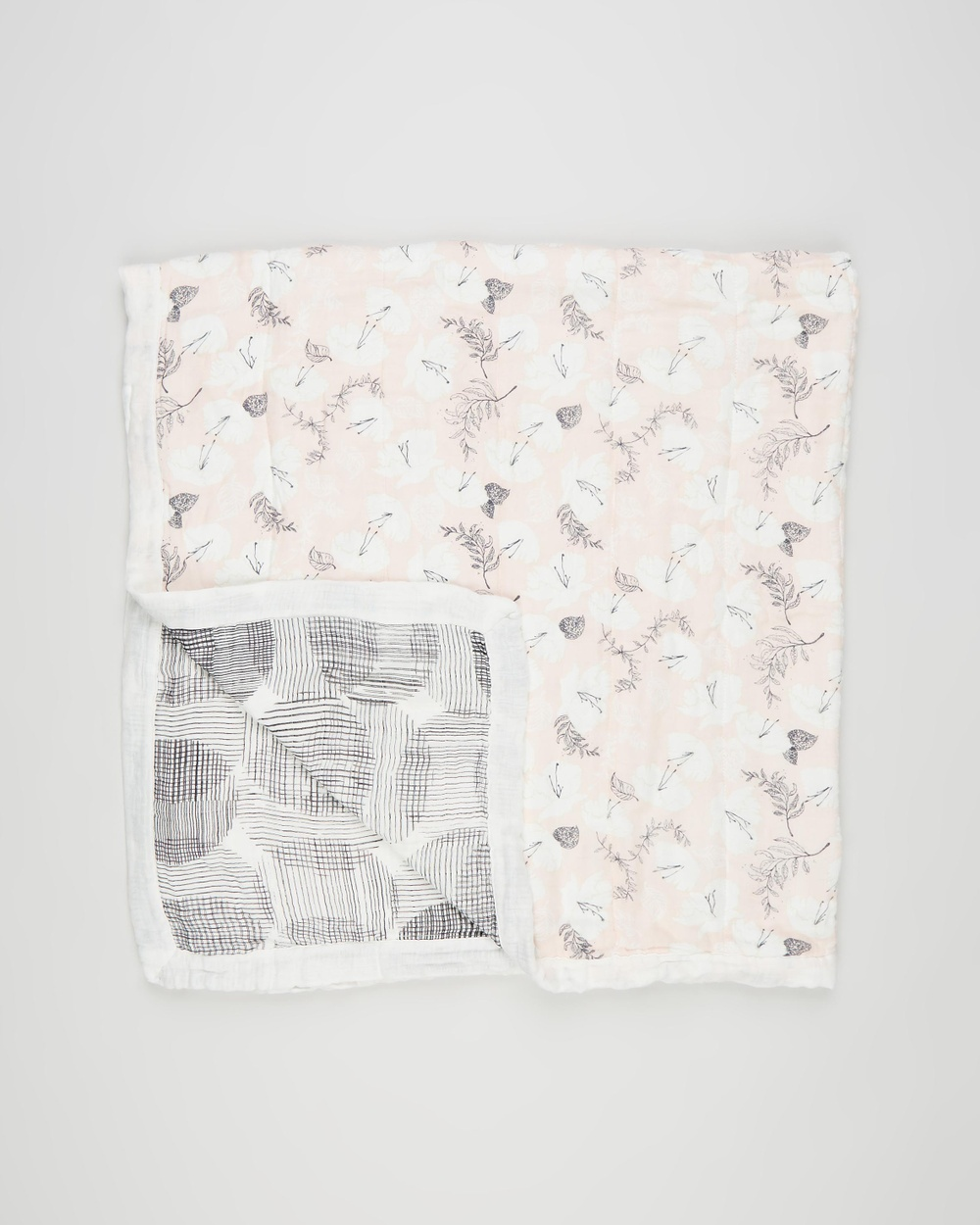 Aden & Anais Soft Petals Silky Dream Blanket Babies Blankets Pretty Petals