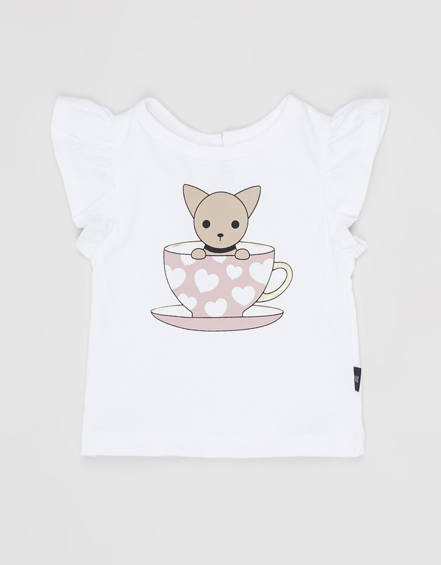 Huxbaby - Chihuahua Cup Frill Top - Babies