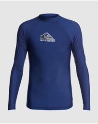 Quiksilver - Boys 8-16 Heater Long Sleeve UPF 50 Rash Vest