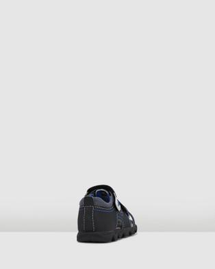 Papaya Kansas Smooth Infant Cage Sandals - Sandals (Black Multi)