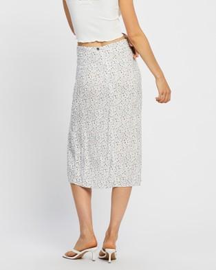 All About Eve Keepsake Split Midi Skirt Skirts PRINT