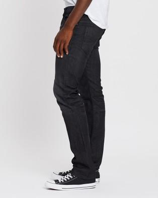 Diesel Safado X Straight Jeans - Jeans (Black & Dark Grey)