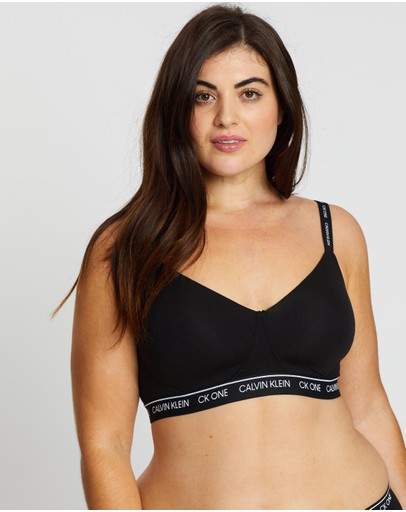 Calvin Klein - CK One Cotton Lightly Lined Bralette PLUS
