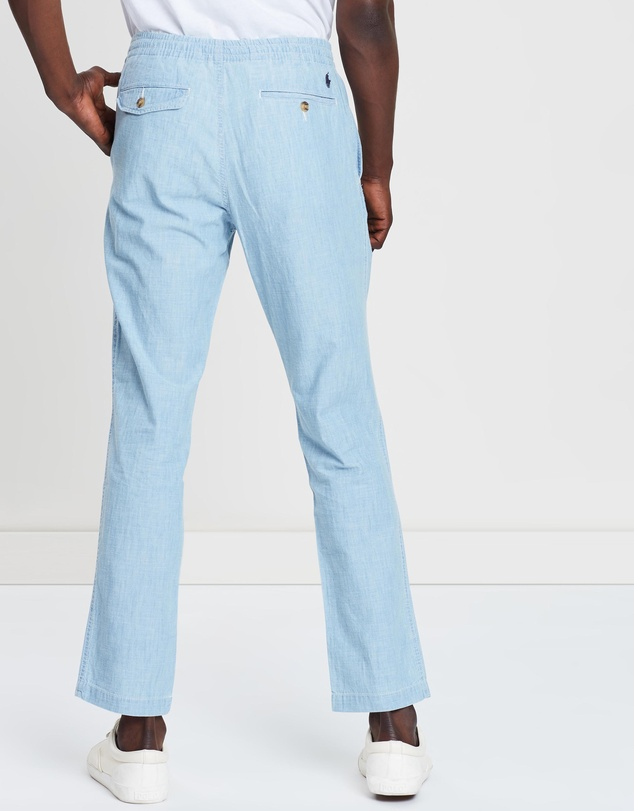 Polo Ralph Lauren - Flat Front Chambray Pants
