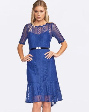 Alannah Hill – Only The High Life Dress – Dresses (Blue)