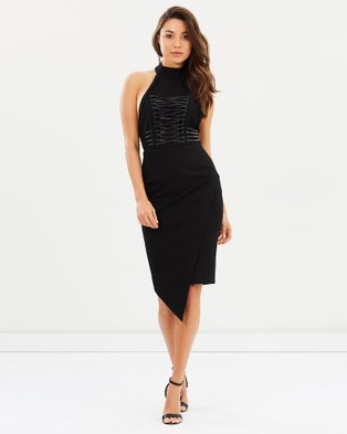 Bless'ed Are The Meek – Mirror Dress – Bodycon Dresses (Black)