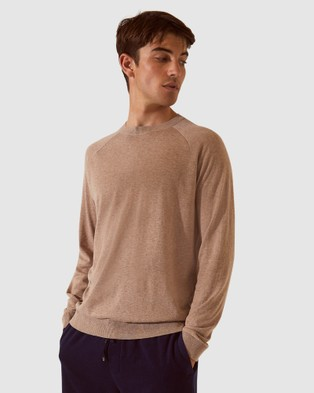 SABA SB Resort Crew Knit Jumper - Jumpers & Cardigans (grey)