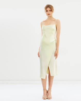 CAMILLA AND MARC – Kami Slip Dress Butter Lemon