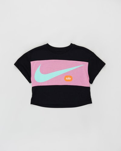 Cropped Swoosh Top - Kids