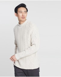 J.Crew - Cotton Cable Roll-Neck Jumper