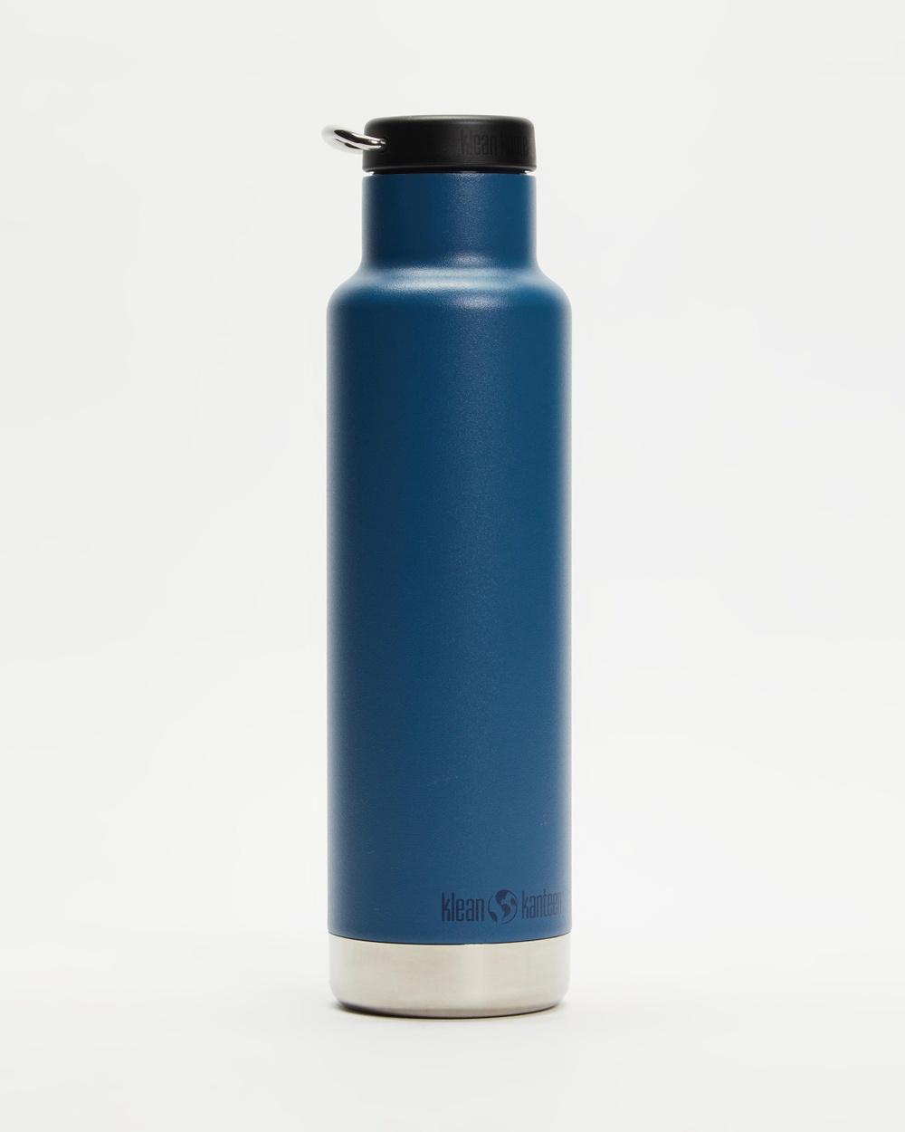 Klean Kanteen 20oz Insulated Classic Loop Cap Bottle Water Bottles Real Teal