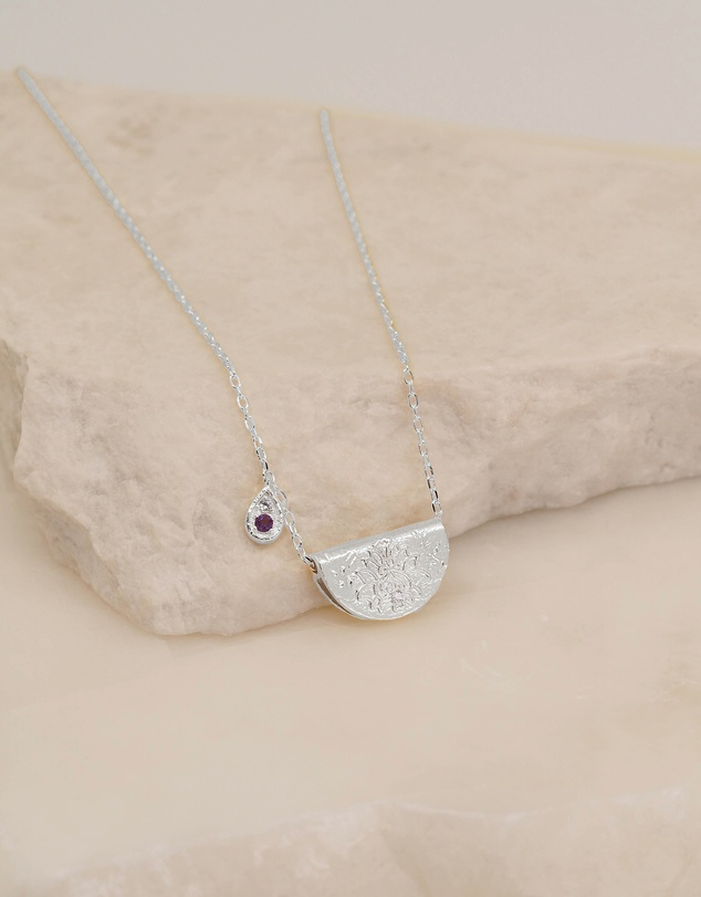 By Charlotte - Awaken Your Senses Necklace - February