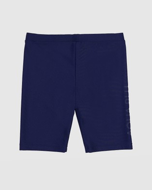 Aqua Blu Kids Building Blocks Jammers   Kids - Briefs (Navy)