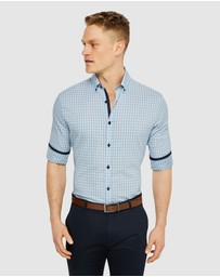 Tarocash - Pilosa Stretch Check Shirt