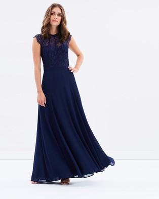 Review – Take A Chance Maxi Dress – Bridesmaid Dresses (Navy)