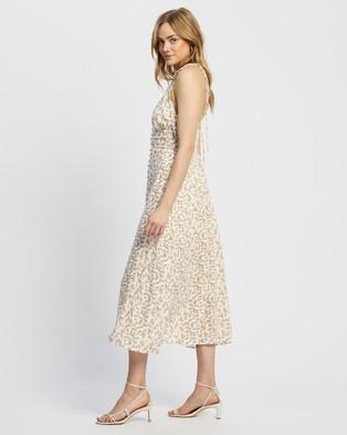 MINKPINK Tie Dozen Midi Dress - Printed Dresses (Multi)
