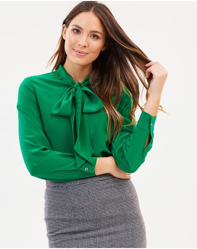 Farage - Norah Bow Blouse