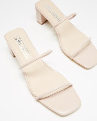 Sol Sana Lottie Mules - Sandals (Rosewater)