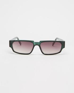 KENDALL + KYLIE Josette - Sunglasses (Shiny Dark Green)