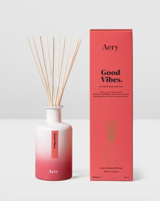 Aery Living Aromatherapy 200ml Reed Diffuser - Diffusers (Pink)