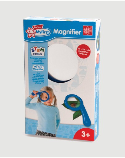 Edu-Toys - My First 2x 3x 4x Magnifier - 3+ Years
