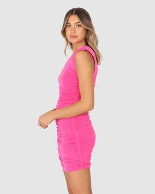 BY.DYLN Addison Dress - Dresses (Pink)
