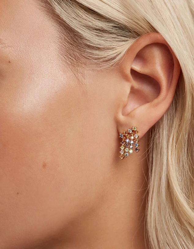 Women Willow Gold Earrings