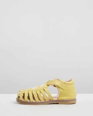 Anchor & Fox Sicily Sandals   Kids - Casual Shoes (Lemon)