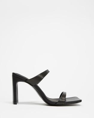 Alias Mae Cassie - Heels (Black Kid Leather)