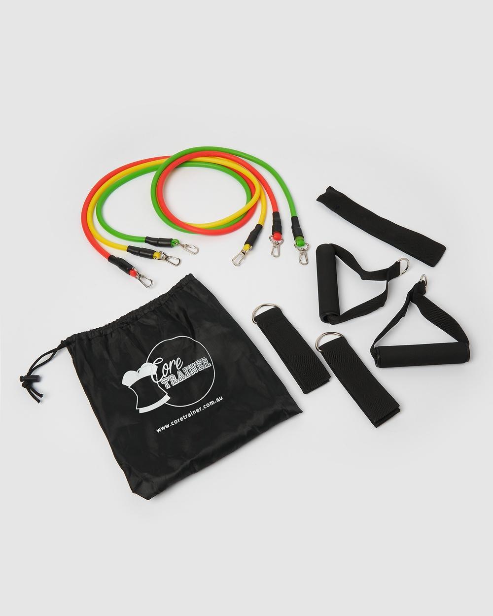 Core Trainer 3 Pack Resistance System Set Training Equipment Multi